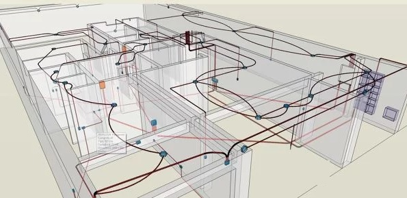 diseño de planos instalacion electrica